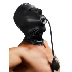 Gonflable masque en latex
